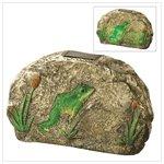 Magical Motion Frog Garden Stone