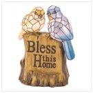 Blessing Birds Solar Statue