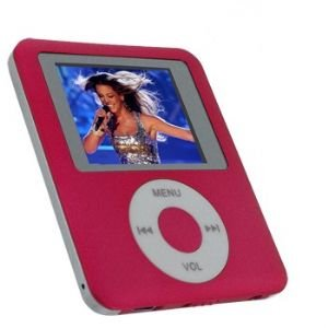 Visual Land 1gb Personal Media Mp4 Player (pink)