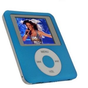 Visual Land 1gb Personal Media Mp4 Player (blue)