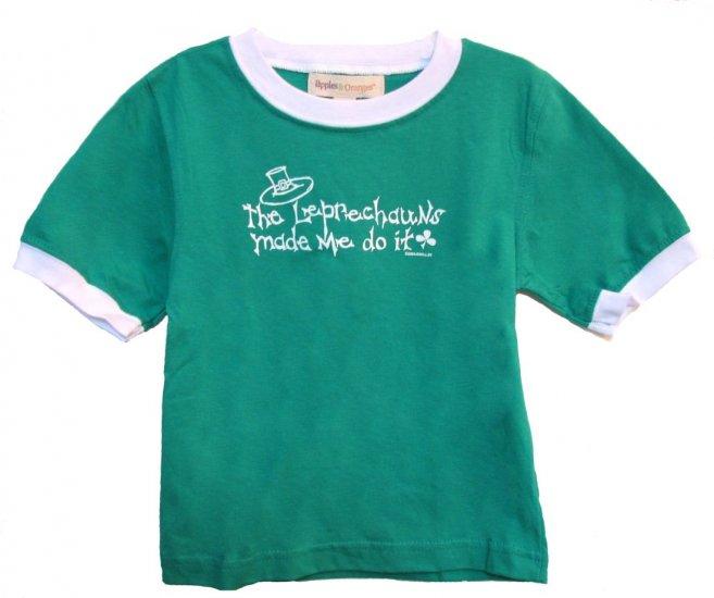 The Leprechauns Made Me Do It Shirt (2T)