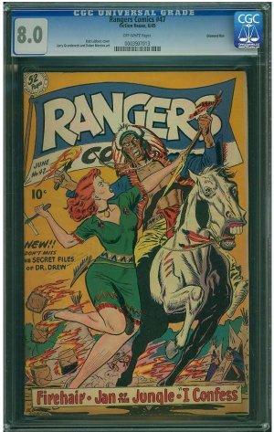 Rangers Comics #47 (CGC 8.0) 2ND HIGHEST GRADED