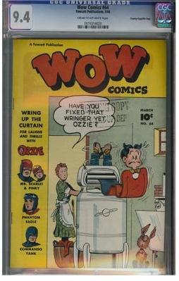 WOW Comics #64 (CGC 9.4) File Copy - HIGHEST GRADED