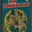 Boy Commandos #8 (CGC 8.0) OW/W Pages- Crowley Pedigree