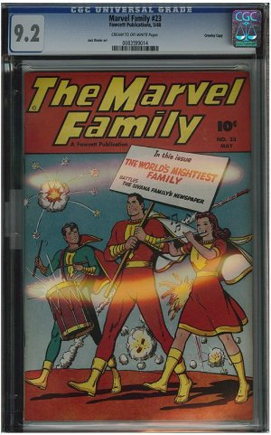 Marvel Family #23 (CGC 9.2) Highest Graded!