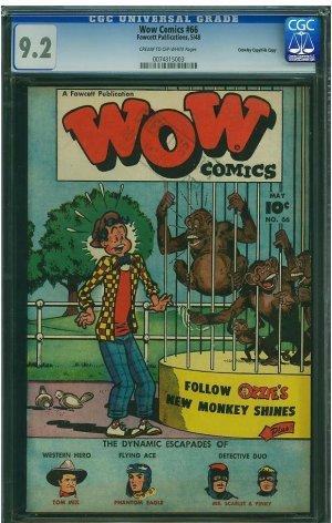 WOW Comics #66 (CGC 9.2) File Copy - 2ND HIGHEST GRADED