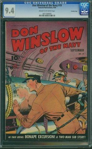 Don Winslow #19 (CGC 9.4) - HIGHEST GRADED