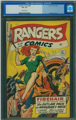 Rangers Comics #48 (CGC 8.5) 4TH HIGHEST GRADED
