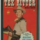 Tex Ritter Western #3 (CGC 8.0) HIGHEST GRADED