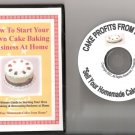 Start Your Own Cake Baking & Decorating Business from Home