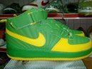 Men jordan Fusions Green And Yellow