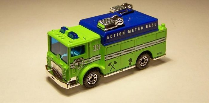 MATCHBOX MACK AUXILIARY POWER TRUCK