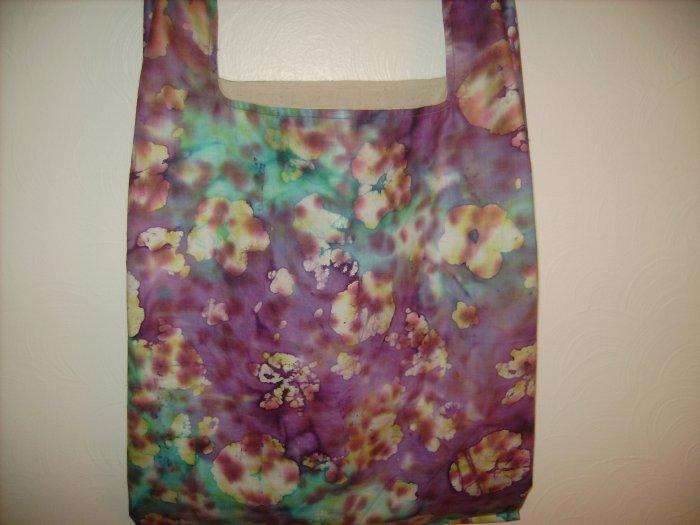 New Batik Reusable Cloth Grocery Shopping Bag
