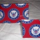 US Navy Checkbook Cover Set