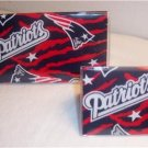 New England Patriots Checkbook Cover Set