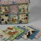 Rag Quilt Purse Kit Udder Cowboy