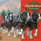 Budweiser Beer Clydesdales Horses Tin Sign #1281