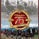 Budweiser Beer Clydesdales Horses 75th Anniversary Tin Sign #1497