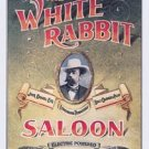 Jack Daniel's White Rabbit Saloon Tin Sign #831