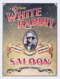 Jack Daniel's White Rabbit Saloon Tin Sign #831