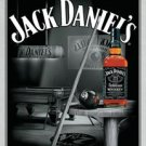 Jack Daniel's Billiards Pool Hall Tin Sign #1135