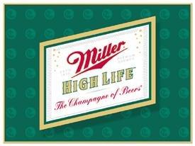 Miller Beer High Life Logo Tin Sign #857