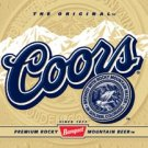 Coors Beer Label Tin Sign #1309
