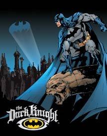 Batman The Dark Knight Tin Sign #1356