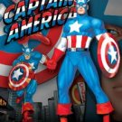 Captain America Collectible Tin Sign #1220