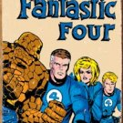 Marvel Fantastic Four Retro Tin Sign #1479
