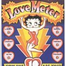 Betty Boop Love Meter Tin Sign #253