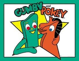 Gumby and Pokey Cartoon Tin Sign #1088