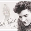 Elvis Presley Sun Never Sets Portrait Tin Sign #934