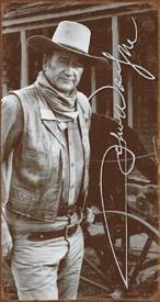 John Wayne Signature Movie Tin Sign #1300