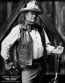 John Wayne The Duke Movie Tin Sign #1186