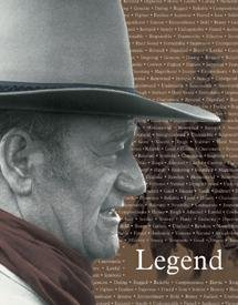 John Wayne Legend Movie Tin Sign #1185