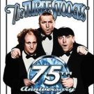 Three Stooges 75th Anniversary Tin Sign #1065
