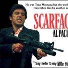 Al Pacino Scarface Little Friend Tin Sign #1339