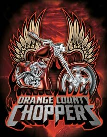 OCC Orange County Choppers Motorcycle Tin Sign #1475