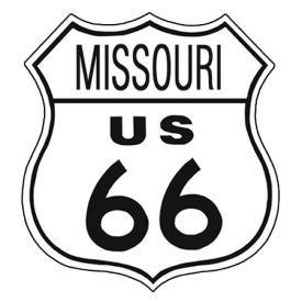 Route 66 Missouri Tin Sign #172