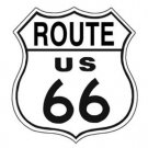 Route 66 Shield Tin Sign #679