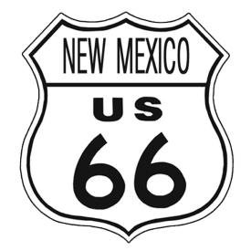 Route 66 New Mexico Tin Sign #283