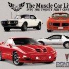 General Motors Pontiac Firebird Car Tin Sign #890