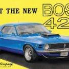 Ford Boss Mustang Car Tin Sign #703