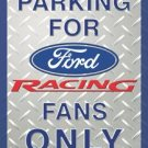 Ford Car Parking Tin Sign #1062