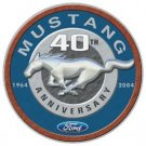 Ford Mustang Round Tin Sign #1206
