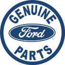 Ford Car Parts Round Tin Sign #791