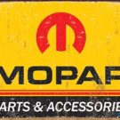 Mopar Parts Car Tin Sign #1315