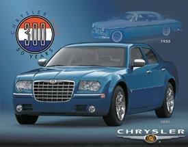 Chrysler 300M Car Tin Sign #1237