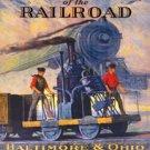 Baltimore And Ohio Train Tin Sign #1446